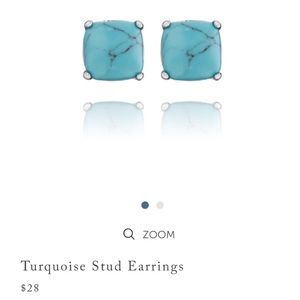 Chloe + Isabel Turquoise Stud Earrings